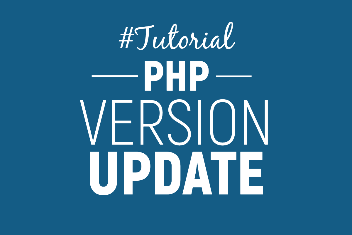 wordpress PHP update